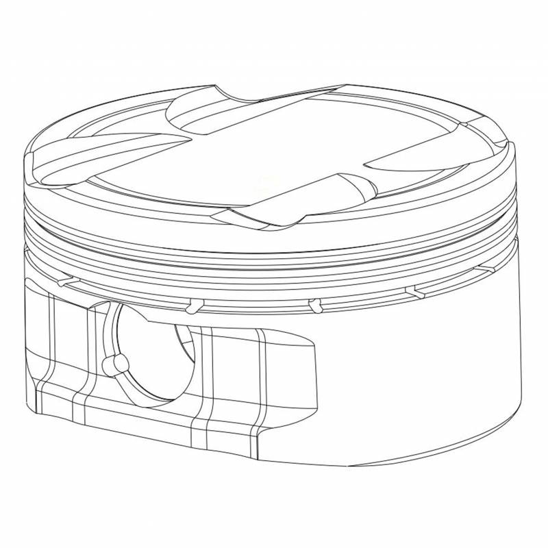 2017-2018 Suzuki GSXR 1000 Piston Kit