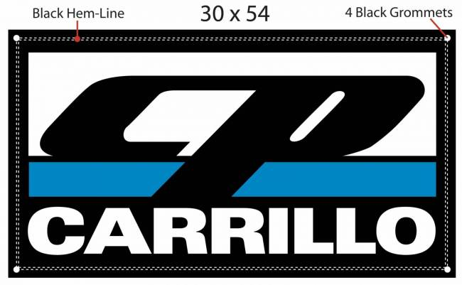 CP Carrillo - CP-CARRILLO Classic Logo Banner