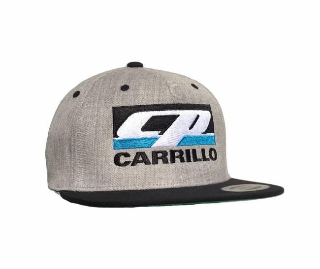 CP Carrillo - CP-CARRILLO Grey Snapback Hat