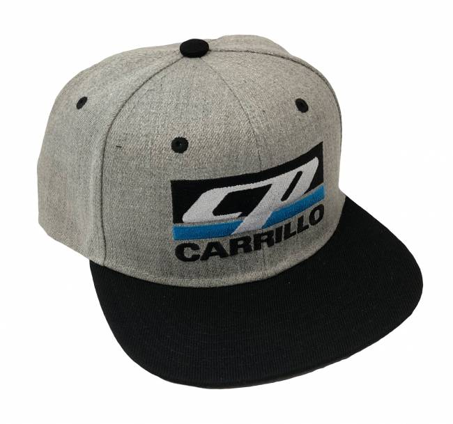 CP Carrillo - CP-CARRILLO Grey Flatbill Snapback Hat