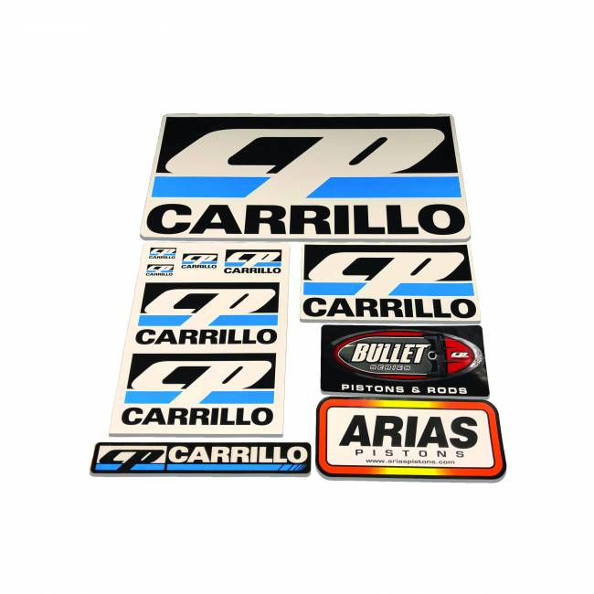 CP Carrillo - CP-CARRILLO DECAL PACK