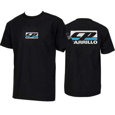 Canvas - CP-CARRILLO Classic logo Crew Neck Tee - Image 3
